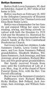 Bettye Ruth Lewis Summers - Obit Aug2017 - Newspapers.com