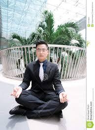 meditation businessman office. Meditation Businessman Office