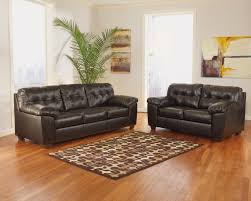 endearing laminate floor and black leahter ashley furniture leather sofa