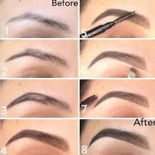 eye makeup for low eyebrows