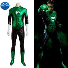 manluyunxiao new mens costume green lantern costume deluxe outfit carnival cosplay costumes for men custom
