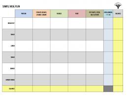 015 Template Ideas Daily Diet Plan Calendar Day Meal Ulyssesroom