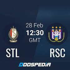 Standard Liege - Anderlecht » Live Score & Stream + Odds, Stats, News