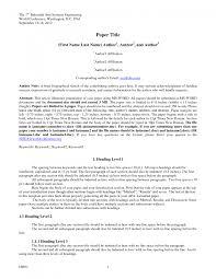 Apa Paper Template 6th Edition Ataumberglauf Verbandcom