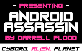There are more than 4300 font selections for android devices. Android Assassins Font By Dadiomouse Creative Fabrica Lettering Fonts Assassin