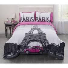 bedroom hot pink paris bedding paris themed duvet cover najarian furniture paris collection paris bed