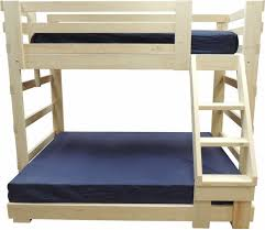Multi-Width Bunk Beds for Kids Youth Teen College Adults Made In USA