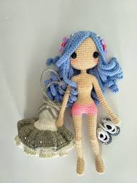 Amigurumi Doll Patterns Magnificent Kallie Amigurumi Doll Pattern By Jeslyn Sim BARBIE Pinterest