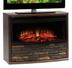 amish electric fireplace tv stand