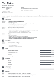 Get Customer Service Jobs Customer Service Representative Resume Examples 19 Tips