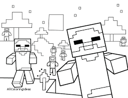 Minecraft Drawing Steve At Getdrawingscom Free For Personal Use