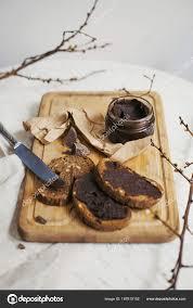 Light Chocolate Spread Date Fruit Chocolate Spread Bread Loaves Healthy Breakfast