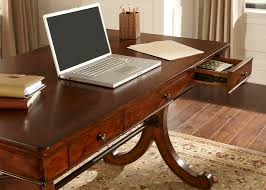 home office writing desk. Home Office Writing Desk With Poplar Solids \u0026 Cherry/Birch Veneers In Rustic Cherry Finish R