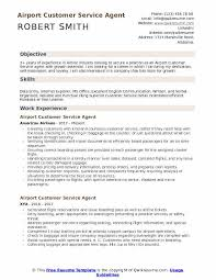 airline resume format airport customer service agent resume samples qwikresume