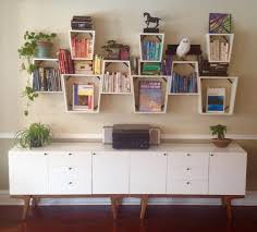 ... Elegant Hanging Wall Shelves Furniture Designs Ideas Plans Design With Cool  Shelves White Wooden Racks Rectangul ...