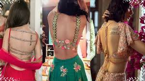 Latest Blouse Designs Photos 2019 Lehenga And Saree Wear Embroidered Latest Blouse Designs