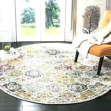 5 round rug 5 round rug pad 5 round area rugs bohemian geometric cream multi area