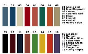 Buy Debourgh Color Chart At Centar Industries