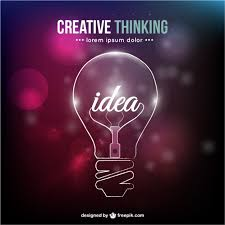 creative thinking conceptual vector  creative thinking conceptual vector