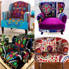 funky style furniture. suzani chairs boho gypsybohemian stylehippie bohofunky funky style furniture a