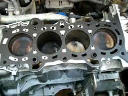 2005 honda civic bad head gasket engine tear down