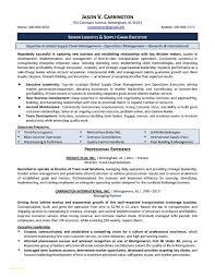 Transportation Resume Examples Finance Resume Examples Elegant Transportation Broker Job