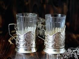 russian tea glass set of 2 vintage soviet tea glasses holders tale of tsar traditional russian