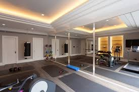 home gym lighting. art deco refurbishment contemporaryhomegym home gym lighting o