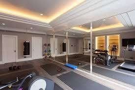 home gym lighting. art deco refurbishment contemporaryhomegym home gym lighting o