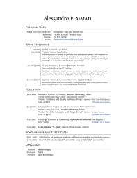 Professional Resume Layout Musiccityspiritsandcocktail Com
