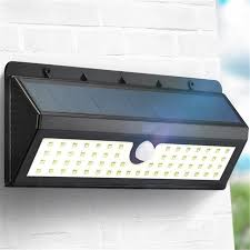 6 Led Solar Powered Outdoor Wall Light  Best Solar Garden Lights Garden Lights Led Solar