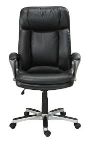 broyhill executive bigtall chair black leather office best computer inch white bar stools argos chairs with