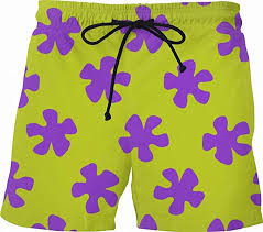 Tealun Cute Summer <b>Men</b> Casual Shorts <b>3D</b> Cartoon Patrick Star ...