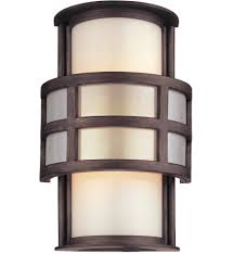 Troy Lighting Discus Troy Lighting B2731 Discus Graphite 10 Inch Outdoor Wall Lantern