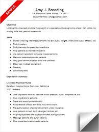 Registered Practical Nurse Resume Template Lpn No Experience     Gfyork com Resume Lpn   Resume Cv Cover Letter
