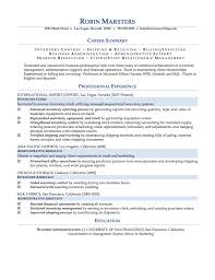 Business Administration Sample Resume Best Of Sample Resumes ResumeWriting
