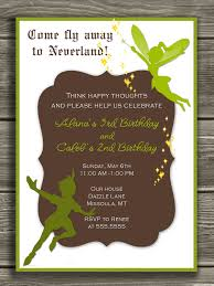 peter pan and tinkerbell invitation thank you card included peter pan and tinkerbell invitation thank you card included 15 00 via