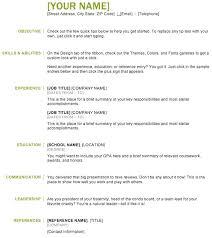Google Resume Builder Easy Resume Builder Free Student Resume Creator Free Online Resume 81
