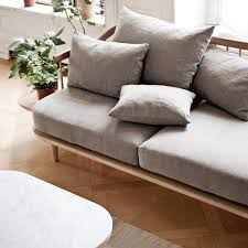 tradition fly sc2 sofa white oiled