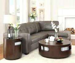 solid wood round coffee table dark brown modern solid wood round coffee table sets with storage