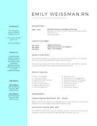 Sample Nursing Student Resume Gorgeous Examples Of Nursing Resumes For New Graduates Stanmartin