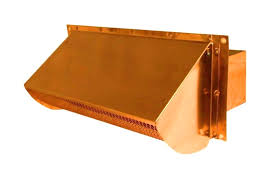 exterior kitchen exhaust vent cover. replace your cheap plastic or thin metal wall vent with a well made luxury metals exterior cap. kitchen exhaust cover