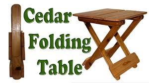 wood folding table15