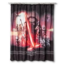 star wars episode 7 live action shower curtain