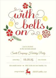 Company Christmas Party Invite Template Corporate Holiday Invitation Templates Company Holiday Party