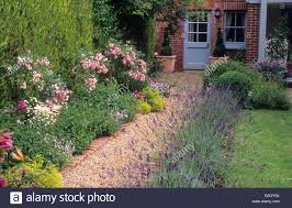 Small Picture Brick gravel path border Rosa The Fairy house cottage blue pain