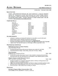 13 Examples Of A Resume For A Job Leterformat
