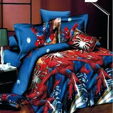 queen size spiderman comforter set superman batman bedding 3 4pcs duvet cover king 1