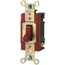 Red Light Switch Eaton 20 Amp 120 277 Volt Industrial Grade Toggle Switch With Pilot Light Red