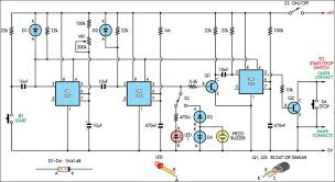 an accurate reaction timer circuit diagram